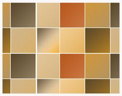 20 Soft Orange Gradient by kumquatslair @ deviantart